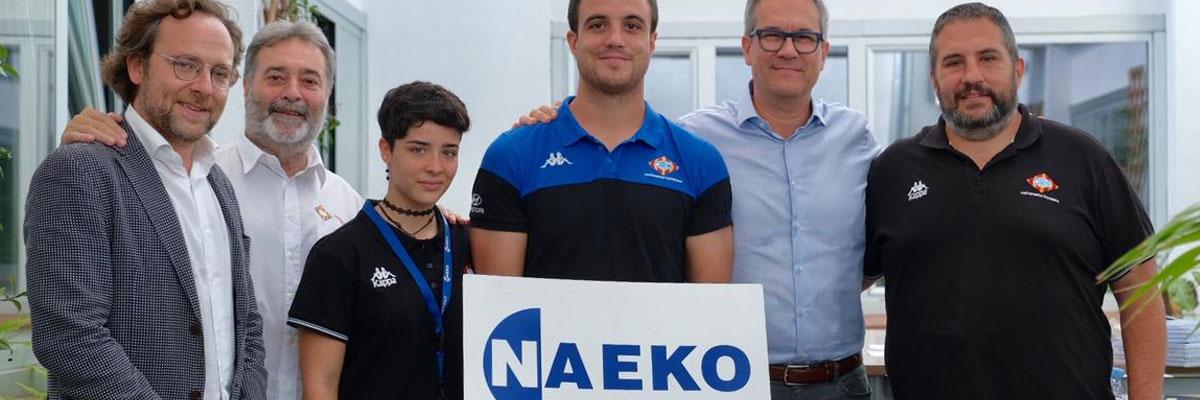 NAEKO LOGÍSTICS, nuevo patrocinador oficial de la U.E. SANTBOIANA