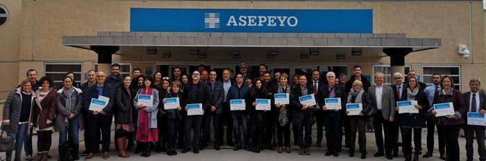 Dos compañías del GRUPO NAEKO, reconocidas por sus esfuerzos en la reducción de la siniestralidad laboral