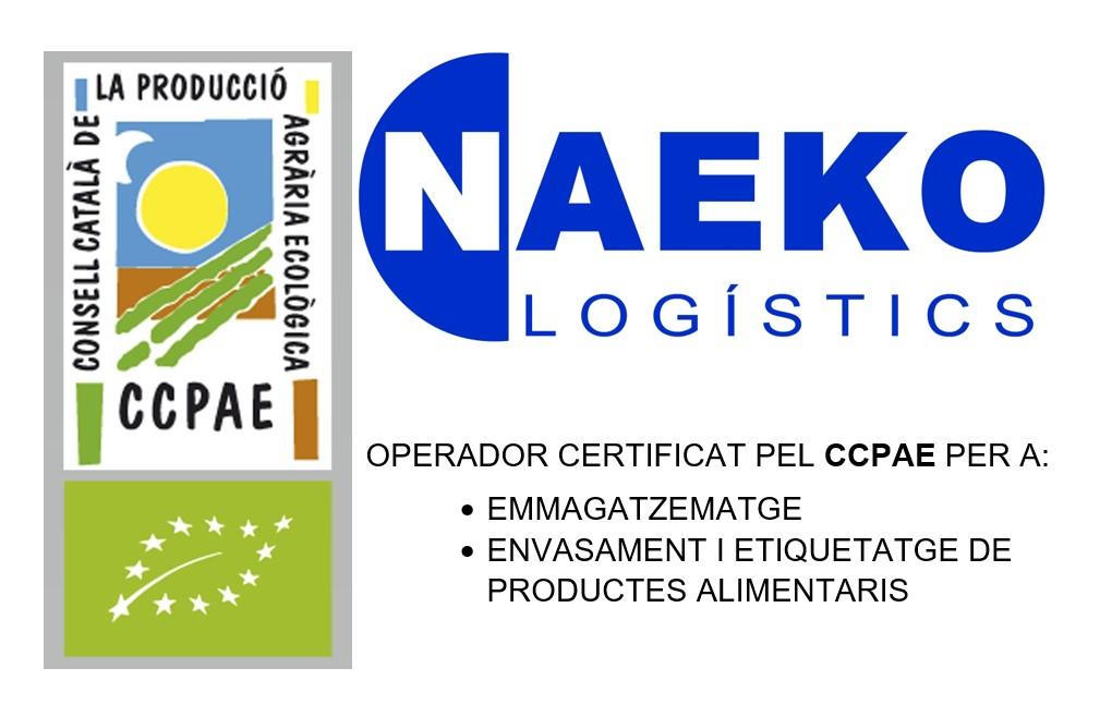 CCPAE Magatzem NAEKO certificació ECO
